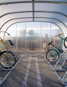 Awesome bike shed by Bike Arc