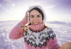 Icelandic Sweaters, Knits, Tie Dye, Turtle Neck, Women's Fashion, Wool, Knitting, Recipes, How To Wear