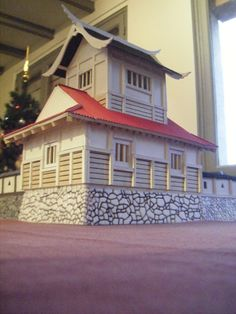[Sengoku Jidaï] Byblos's Yamajiro / Wajo (Update 5th January 2015) - Page2 Fantasy Castle, Fantasy Map, Model Building, Building Design, Japanese Buildings, Lead Adventure, Japanese Castle, Dnd Art, L5r