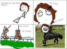 Me Gusta Meme – The horse