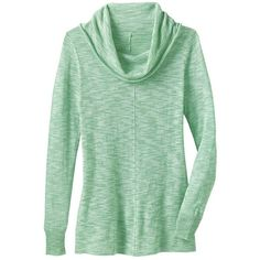 Lightweight Cowlneck Sweater ($31) ❤ liked on Polyvore featuring tops, sweaters, mint green, lightweight sweaters, long sleeve sweaters, light weight sweaters, mint green sweater and oversized cowl neck sweater