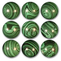 Shooter Hypnoid Greenies-Stare at this orb too long and you could be hypnotized! This marble will amaze everyone who sees it, guaranteed!