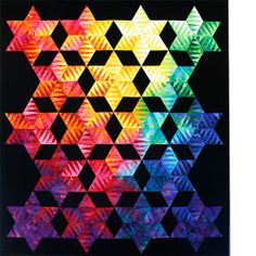 quilt Jacqueline De Jonge Light in to Darkness pattern--I think I'm in love with Jacqueline De Jonge.