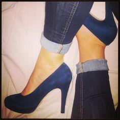 Escarpin Frivole André- love #heels #blue