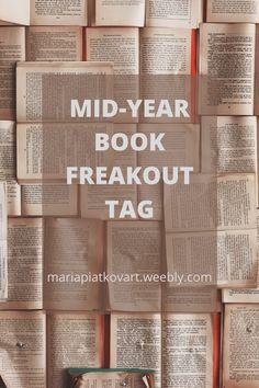 #bookishtag #bookblogtag #midyearbookfreakouttag Theatre Reviews, Invite Friends, Book Reviews, Self Improvement, As You Like, Blogging, Encouragement, Entertainment, Posts