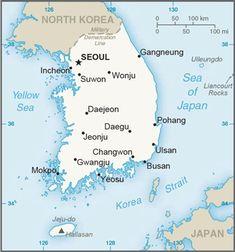 The World Factbook South Korea