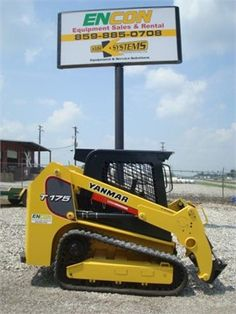If're looking used #skid_steer for your construction work, then Get Best Deal on Used 2013 #Yanmar Skid steer with Free Price Quotes by Encon Equipment LLC for $ 37500 in TN, USA. This Used 2013 Yanmar T175 Skid steer available in good working condition. All machine parts are working well. All feature options available for this skid steer machine. If you interested to buy, then contact with the Encon Equipment, LLC dealer at http://goo.gl/5UdUaG