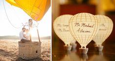 Wednesday Wedding Inspiration: Hot Air Balloons Baby!