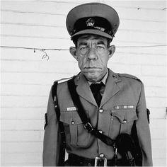 Roger Ballen, Sergeant F. de Bruin, Department of Prisons employee Orange Free State, 1992 (Platteland)