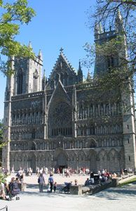 St. Olav's Way is a pilgrimage route in Norway that leads to the Nidaros Cathedral in Trondheim