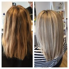 Love these bright highlights when your feeling the winter blues  #highlights #olaplex #styledbysnow @snowbysamanthasnow