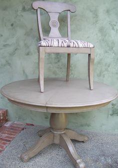 primitive u0026 proper persian blue pedestal dining table furniture makeovers pinterest pedestal dining table pedestal and persian