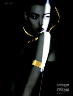 awesome Numéro China December 2014   Tian Yi by Charles Guo  [Editorial]
