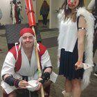 [Self] Princess Mononoke and Jigo today at ECCC