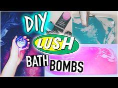 DIY Lush bath bombs + Demo! - YouTube