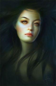 Melanie Delon Art Pictures, Art Images, Melanie Delon, Illustrations, Illustration Art, Space Artwork, Photo D Art, Digital Portrait, Digital Art