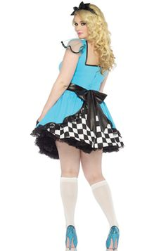 Storybook Alice Plus Size Costume - Pure Costumes