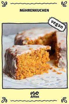 carrot pie - food and drink Diabetic Cake Recipes, Healthy Dessert Recipes, Health Desserts, Healthy Baking, Easy Desserts, Vegan Recipes, Dessert Simple, Mug Cakes, Carrots Cake