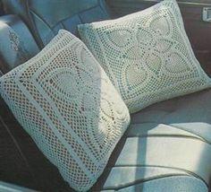 Crochet Cushions - Frost