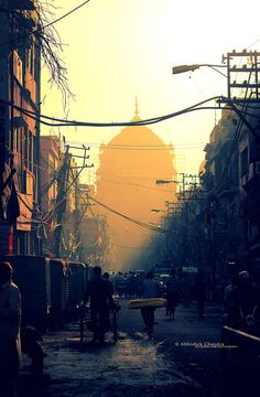 """A morning in Delhi Street"" by Abhishek Chandra  Win Your Dream City Break With i-escape & Coggles #Coggles #iescape #competition"