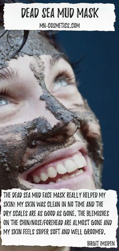 for young and mature skin for dry skin for greasy and acne-prone skin Beauty Secrets, Diy Beauty, Totes Meer, Dead Sea Mud, Acne Prone Skin, Dry Skin, Mother Nature, Face, Cleaning