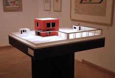 Farkas Molnár | El Cubo Rojo (Der Rote Würfel) | 1923 | Bauhaus, Corner Desk, Architecture, House, Furniture, Budapest, Home Decor, Cubes, Red