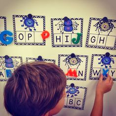 Kindergarten Smiles: Word Work ~ Could be a good table top activity during Spider Unit