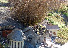 Pikkumökit puutarhaan