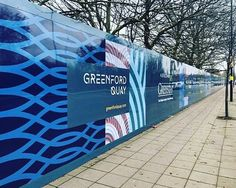 Checking out the delightful sites of Greenford, which now include the epic hoarding we've just printed and installed whilst a new residential development is underway Hoarding Design, Site Design, Brand Design, Digital Printing Services, Outdoor Signage, Window Graphics, Ads Creative, Window Film, Advertising Design