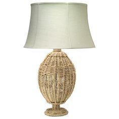Jamie Young Lighting Table Lamp Base Jute Urn Rope. #laylagrayce #jamieyoung #lighting