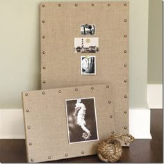 DIY Designer Bulletin Board