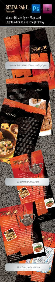 Restaurant Menu - Food Menu Template Food menu template, Menu - food menu template