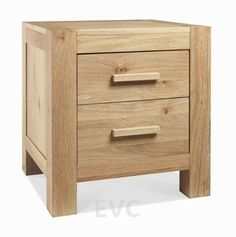 Lyon Washed Oak 2 Drawer Nightstand £320 http://www.expressfurniture.org.uk/bedroom/bedside-tables/lyon-washed-2-drw-nightstand.html