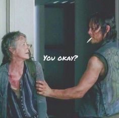 When Daryl & Carol are together, they always are..