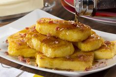 This old-fashioned recipe for Fried Cornmeal Mush is one that won't ever go out of style. Most Midwesterners will tell you it's one of their go-to breakfast staples, while some folks will say it makes a tasty side dish! However you eat it, there's no