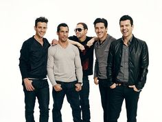 New Kids on the Block (Joey McIntyre, Danny Wood, Donnie Wahlberg, Jonathan Knight and Jordan Knight)