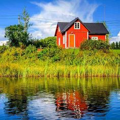 Typical Finnish countryside house in #Hartola #Finland Re-post by Hold With Hope