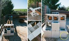 Cinder+Block+Bench+For+Your+Backyard