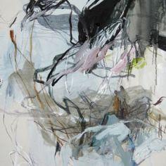 Laurence GARNESSON, PANGEA - 2014 - 100 x 81 cm - huile et medium sur toile - grande taille