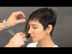 Celebrity Hair Cutting Technique Tips & How to Cut a Sexy Celebrity Inspired Shape.flv