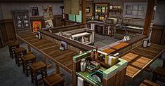 My Sims 4 Blog: Japanese Restaurant - No CC by Simsmissdd