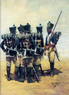 SOLDIERS- Rocco: NAP- France: French Line Infantry Fusiliers, by Keith Rocco.
