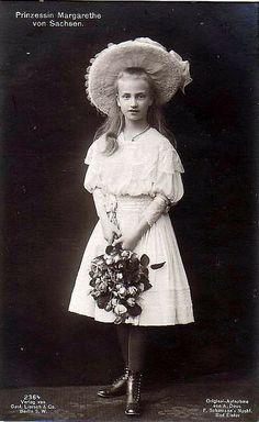 Prinzessin Margarete von Sachsen, Princess of Saxony