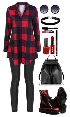 """""""Untitled #46"""" by mariposa-fashion-21 ❤ liked on Polyvore featuring Armani Jeans, Alice + Olivia, Le Parmentier, OPI, NYX, Charlotte Russe and Miss Selfridge"""