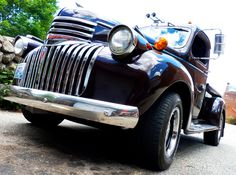 1947 Chevy Flat Bed | American Classic Cars...but in cherry red!
