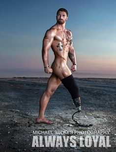 Wounded Veterans Bare All in Photographer's Bold New Book