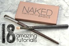 The best easy look tutorials with the Urban Decay Naked Basics Palette