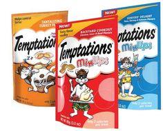 Score FREE Whiskas Temptations Mix-Ups Cat Treats!