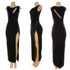 EXUDE SIDE ZIPPER DRESS