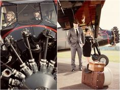 1920s Style Engagement Shoot by Rennard Photography